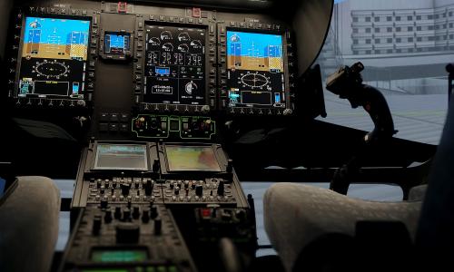 NCCH FFS Cockpit Detail