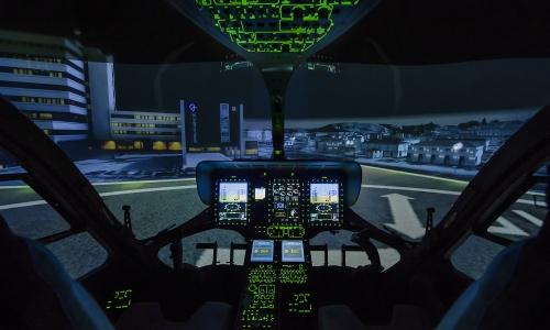 NCCH H145 FFS Cockpit I-Panel