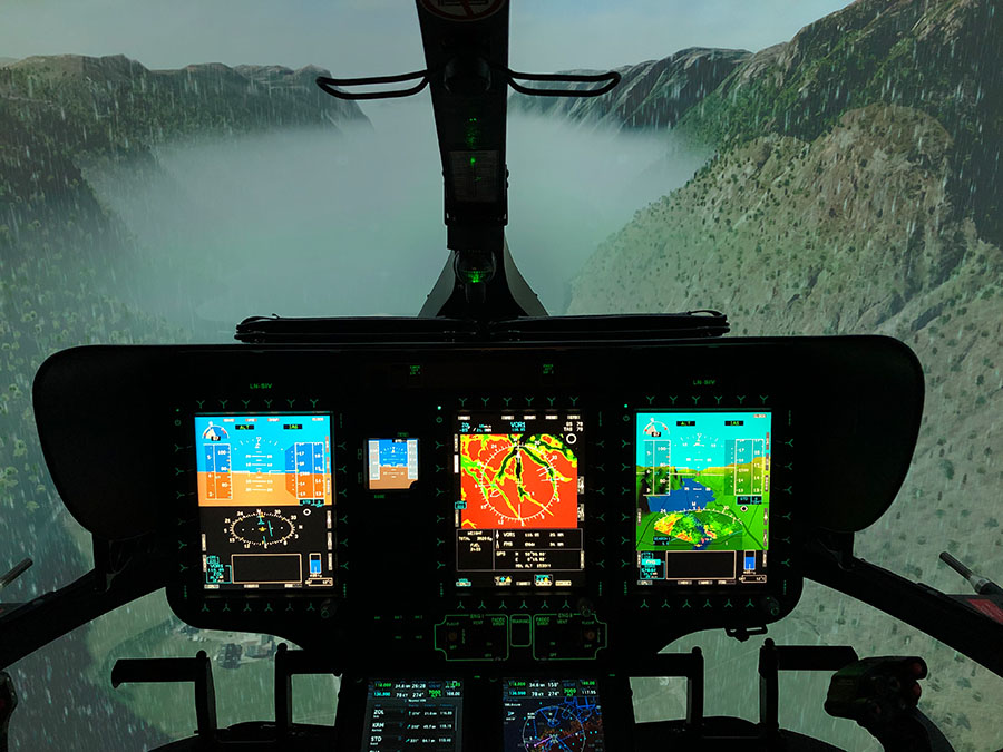Training for H145 - Norwegian Competence Centre Helicopter